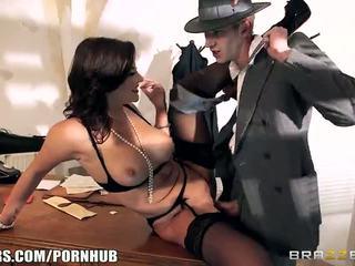 brunette, big dick, big boobs