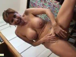 Big Titted Cougar Tara Holiday Grinds ...
