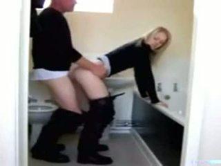 पिता, और, स्नानघर