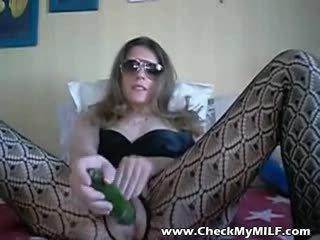 당신 성숙 현실, 큰 섹스하고 싶은 중년 여성, 참조 스타킹 새로운