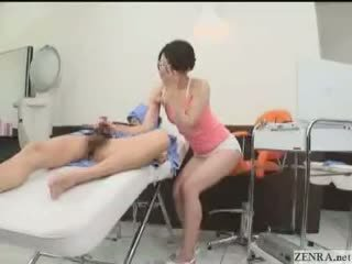 Ear Cleaning Followed By A Happy Ending With Maki Hojo