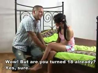barely legal cuties, defloration, first cock
