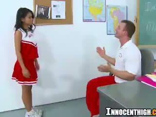 japānas, skolniece, karsējmeitenes