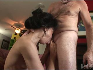 brunete, hardcore sex, pussy drilling