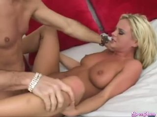 Bree Olson Getting Fucked On Her Twat By Huge Hard Rod