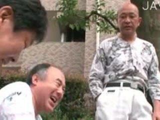 יפני, ישן + צעיר, תחתונים קצרים