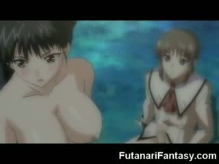 Futanari hentai tekenfilm shemale anime manga tranny tekenfilm anime kwak schot lul lul transexual facial kwak mad dickgirl