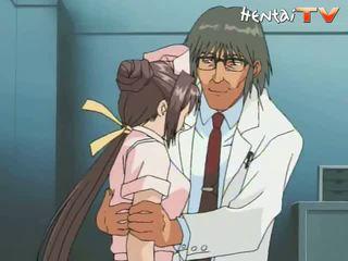 zdravotní sestra, anime porn