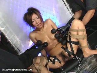 Japanese bitch's extreme bdsm punishme...