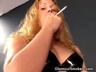 smēķēšana, video, smēķēšana fetišs