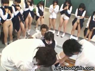 Gorące seks dziewczyna w szkoła klasa