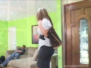 Stepmom fucked by ex con stepson