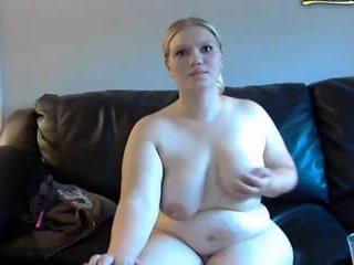blonde, bbw, webcam-uri