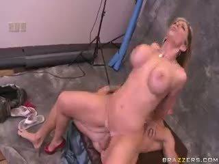 blondīne, amatieris, hardcore
