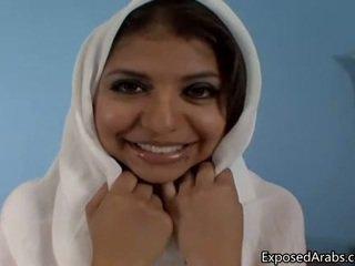Naravna egipčanke punca gets ji muca