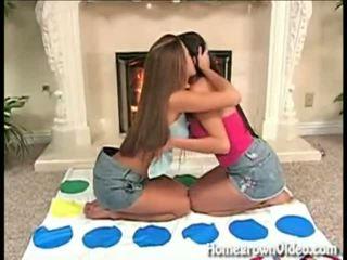 Lesbian Twister