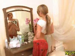 small tits, flat erotic tits, skinny nude teens