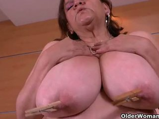 You never knew that granny Gloria is this kinky