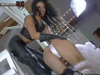 Sissy Training with Femdom Mistress Tangent: Free Porn ed