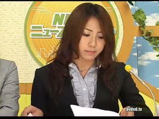 Nhật bản newsreaders ayumu sena và fuuka minase squirting l
