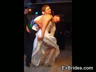 Amateur prometida novia gf voyeur bajo la falda gf esposa lencería boda modelo público real trasero calcetas nailon desnudo
