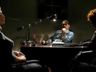 kancelář, punčocha