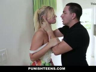 Punishteens - وحشي punishment إلى daddys فتاة <span class=duration>- 10 min</span>