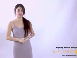 Supermodel 바보 엿 에 오디션 주조
