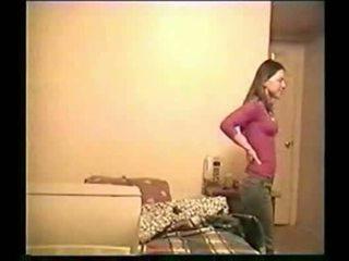 Pusaudžu meitene auditioned par commercials