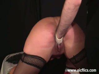 Extreem fist geneukt onderdanig slaaf meisje