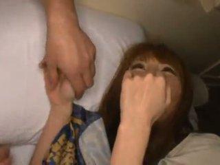 Miku ohashi admires the fellow pyöreä hänen kiva shagging skills