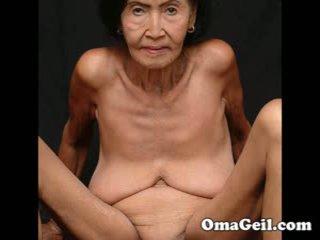 Omageil mare colecție vechi bunici și senior femeie