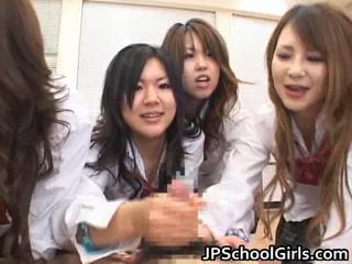 Asian Schoolgirls Are Having A Ma Holeive Group Sex