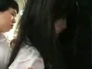 Saori hara in de trein