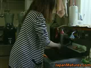 जपानीस मिल्फ enjoys हॉट सेक्स