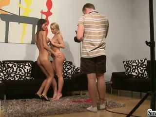 Silvia And Nessa Devil Behind The Scenes1
