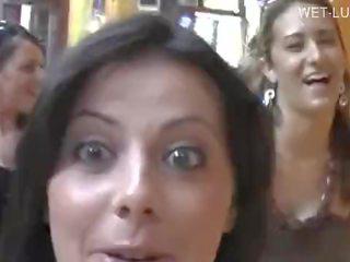 brunete, mutisks sekss, grupu sekss