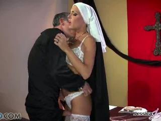 Mainit nuns jessica jaymes at nikki benz