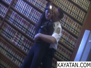 Pinay rău fata na dali ng securitate guard
