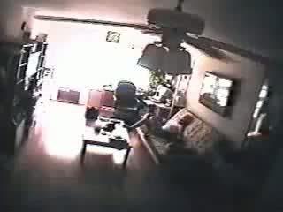 Homeclips - spycam - baysitter betrapt masturberen