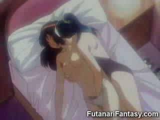 Futanari hentai personagem shemale anime manga traveca desenho animado animação caralho pila transexual louca dickgirl hermafrodita fant