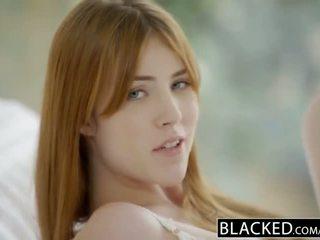 Blacked gwen stark at amarna miller una pagsasama ng magkaibang lahi pangtatluhang pagtatalik