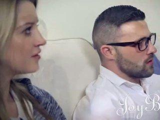 JOYBEAR Sensual Busty babe takes it deep