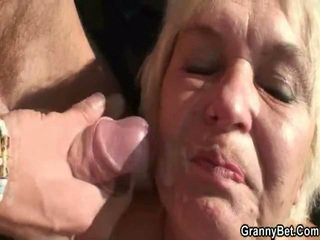 Shafting a dissolute grandmother mound อ้วน