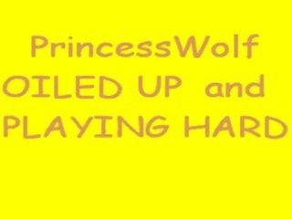 Princesswolf Oiled Masturbation 2161