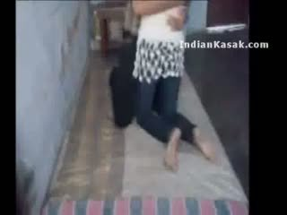 Indian delhi college lovers enjoying in their room
