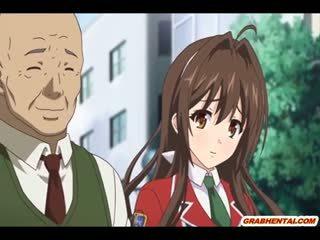 Bigboobs Anime Japanese Hot Poking In The Garden