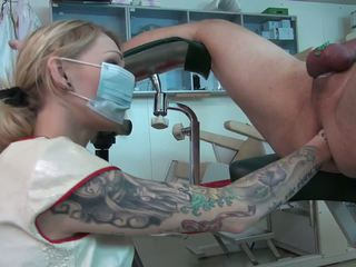 Schön krankenschwester teil two double fisten, hd porno 0f