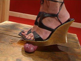 Cockbox shoe en voetjob