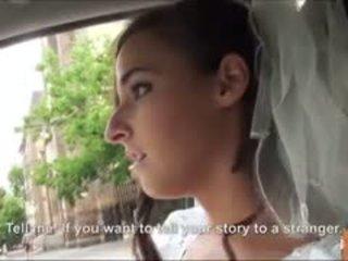 Καυτά νύφη fucks μετά failed γάμος